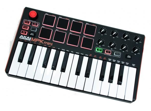 Teclados MIDI Controladores Akai MPK mini Mk2