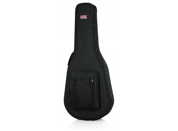 Estojo para guitarra acústica clássica/Estojo para guitarra clássica Gator GL-Classic