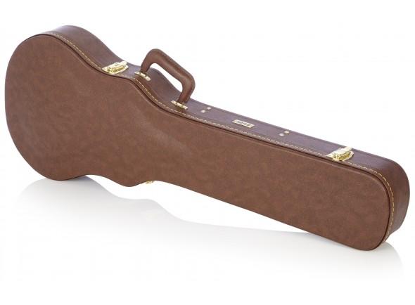 Estojo para Guitarra Eléctrica/Estojos para Guitarra Eléctrica Gator GW-LP-BROWN