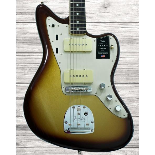 Outros formatos Fender American Ultra Jazzmaster RW Mocha Burst