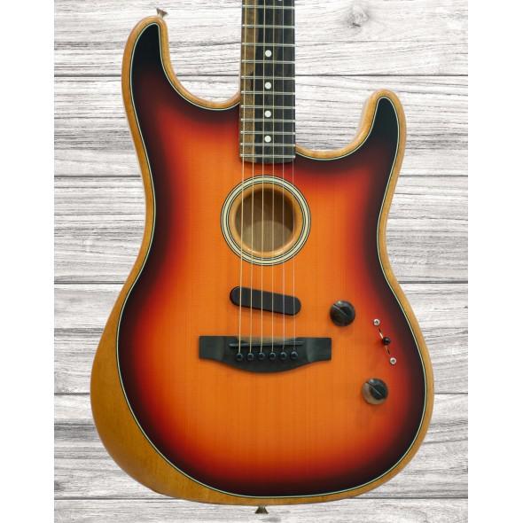 Guitarras formato ST Fender American Acoustasonic Strat 3-SB