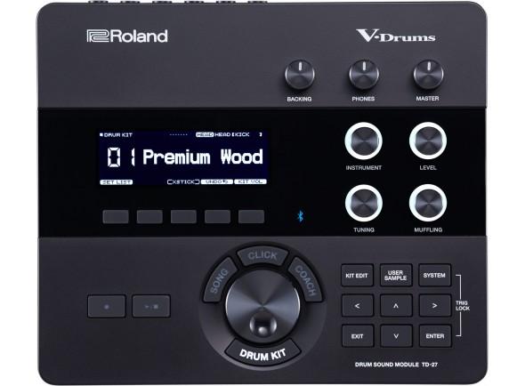 Módulos de bateria eletrónica Roland TD-27 Modulo de Sons