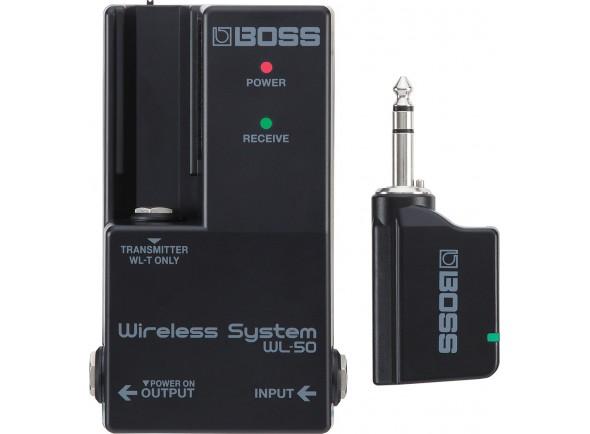 Sistema sem fios para guitarra/Sistemas sem fio para guitarra e baixo BOSS WL-50 Wireless System