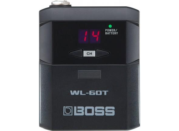 Sistema sem fio para guitarra e baixo/Sistemas sem fio para guitarra e baixo BOSS WL-60T Transmissor Wireless