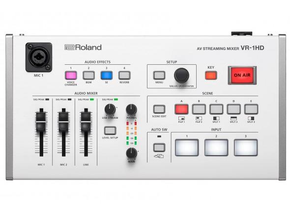 Mesa de Edição de Vídeo Roland VR-1HD AV Streaming Mixer B-Stock