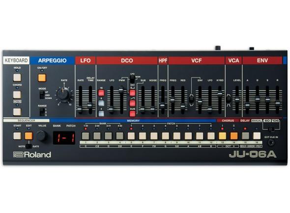 Sintetizadores e Samplers/Sintetizadores Roland JU-06A Sintetizador BOUTIQUE