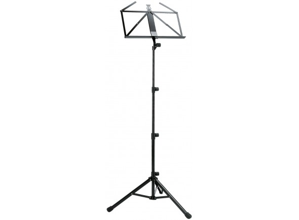 Estante para partitura/Estante para partitura K&M 10065 Music Stand Black