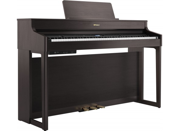 Piano Digital com Móvel/Pianos Digitais de Móvel Roland HP702 DR Dark Rosewood