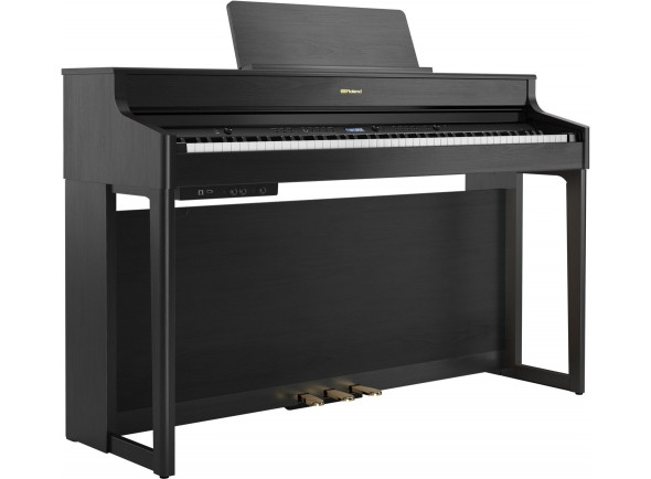 Pianos Digitais de Móvel Roland HP702 CH Charcoal Black