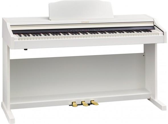 Pianos Digitais de Móvel Roland RP501R WH Satin White