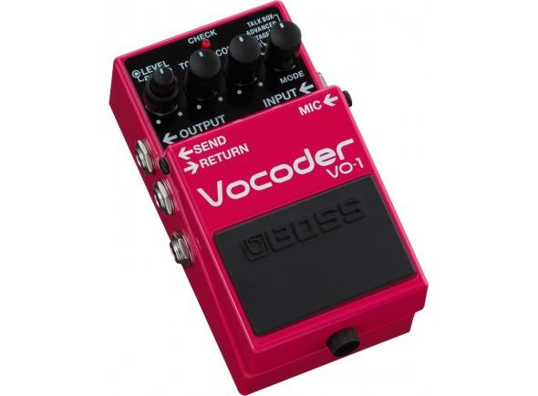 Vocoder/Outros efeitos para guitarra elétrica BOSS VO-1 Pedal Vocoder