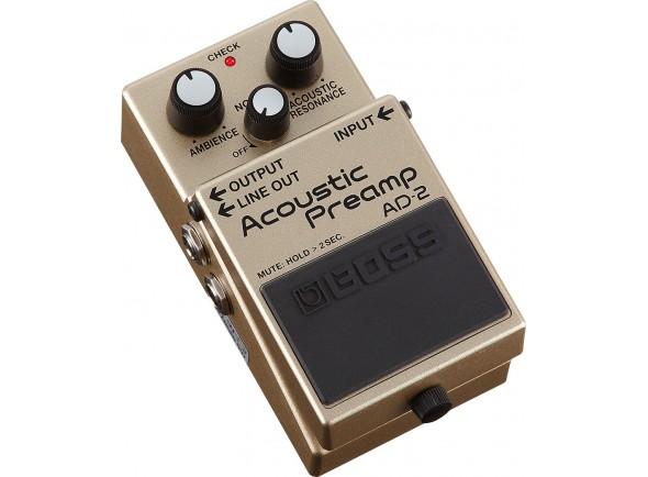 Pedal preamplificador para guitarra/Efeitos para guitarra acústica BOSS AD-2 Acoustic Preamp