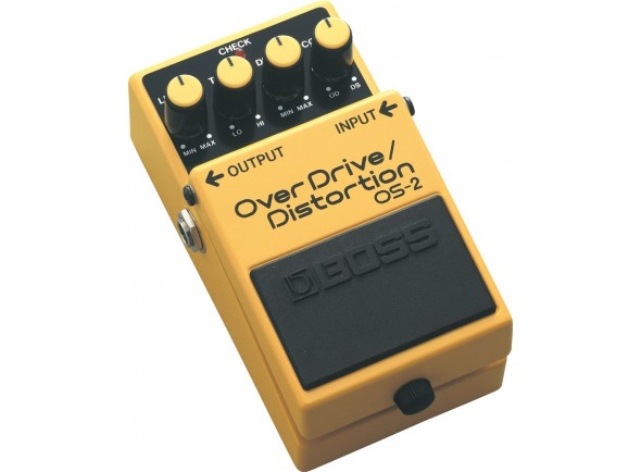 Pedal de distorção BOSS OS-2 OverDrive/Distortion