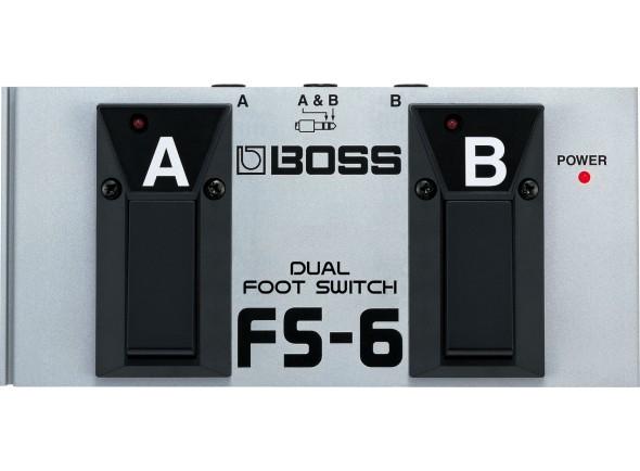 Comutador/Comutadores BOSS FS-6 Pedal Dual Footswitch