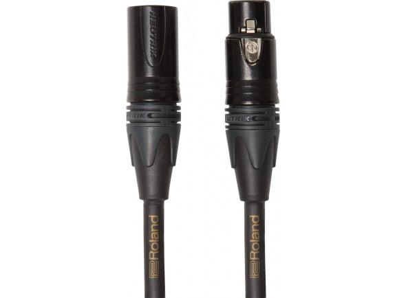 Cabo de microfone/Cabos XLR / Microfone Roland RMC-GQ10 3m