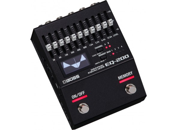 Equalizadores BOSS EQ-200 Graphic Equalizer
