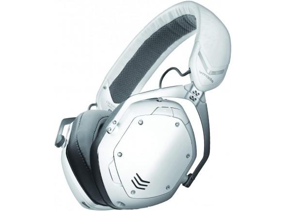 Auscultadores sem fio Wireless /Auscultadores sem fio V-MODA Crossfade 2 Wireless CODEX Edition White Matte