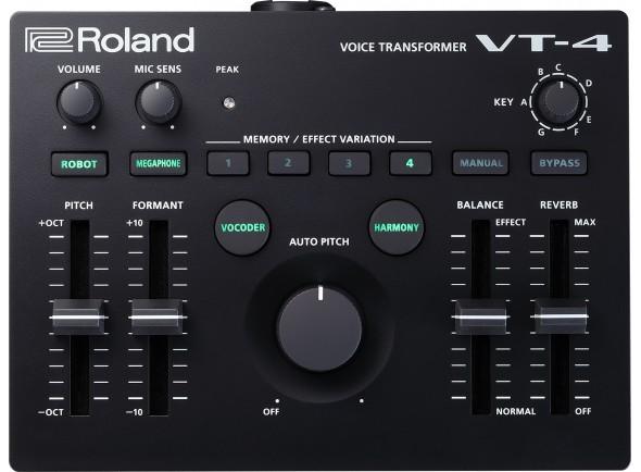 Processadores para vocalistas Roland VT-4 Voice Transformer