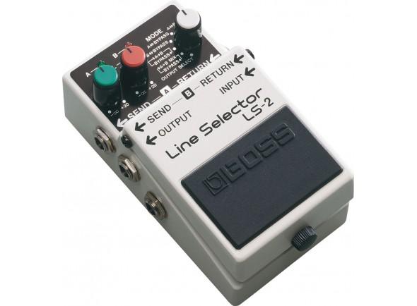 Pedal de efeito Comutador/Comutadores BOSS LS-2 Line Selector