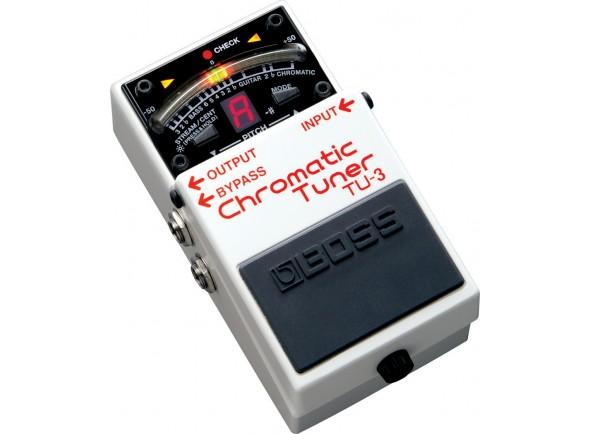 Pedal Afinador para Guitarra Elétrica e Baixo/Afinadores de pedal BOSS TU-3 Pedal Afinador