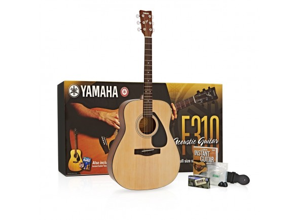 Guitarras Dreadnought Yamaha F310P2 Guitar Pack - NT