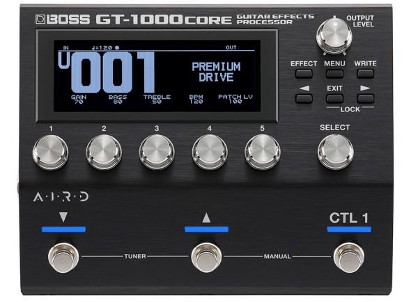 Pedaleira para Guitarra Elétrica/Pedaleiras para guitarra elétrica BOSS GT-1000CORE Pedaleira Multi-Efeitos