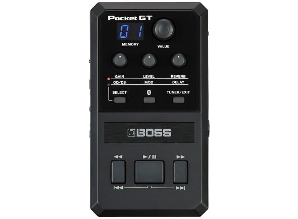 Pedaleiras para guitarra elétrica BOSS POCKET GT Processador Multi-Efeitos Bluetooth