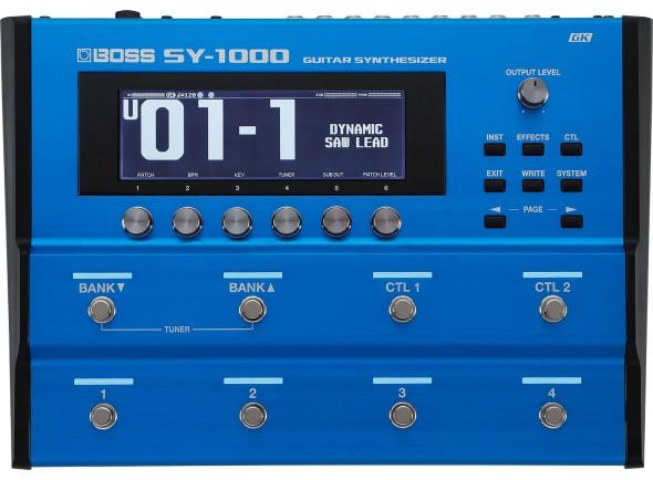 Sintetizador para guitarra e baixo/Sintetizadores para guitarras e baixos BOSS SY-1000 Sintetizador para Guitarra e Baixo
