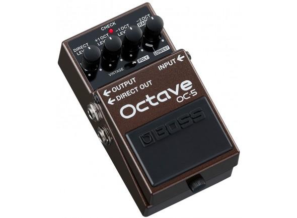 Pedal Octaver/Outros efeitos para guitarra elétrica BOSS OC-5 Pedal Octave