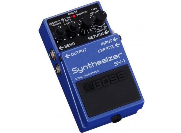 Sintetizador para guitarra e baixo/Outros efeitos para guitarra elétrica BOSS SY-1 Sintetizador para Guitarra e Baixo