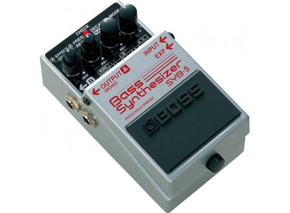 Pedais para baixo BOSS SYB-5 BASS Synthesizer
