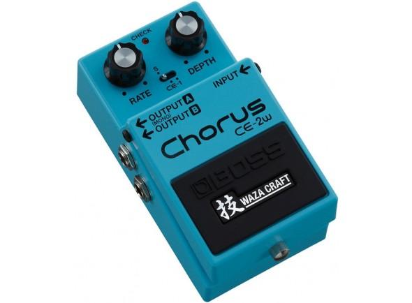Guitarra ESP Pedal de Efeito Chorus /Coro / Flanger / Phaser BOSS CE-2W Chorus - Edição Especial Waza Craft