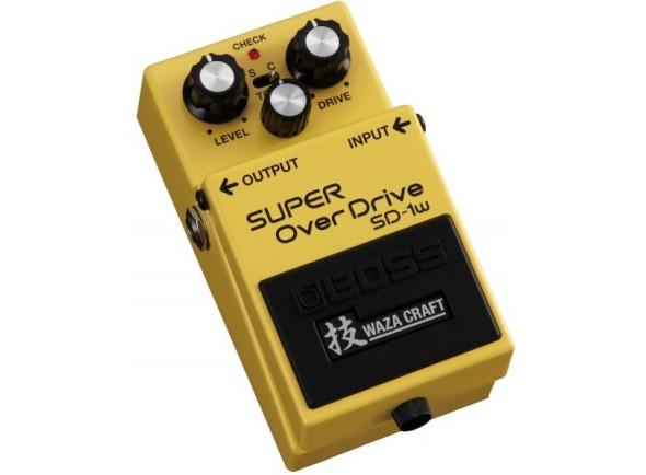 Guitarra ESP Pedal de Distorção /Pedal de distorsión BOSS SD-1W SUPER OverDrive - Edição Especial Waza Craft