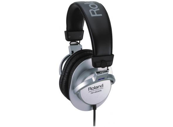 Auscultadores de Estúdio/Auscultadores de estúdio Roland RH-200S Silver Auscultadores de Estúdio Premium