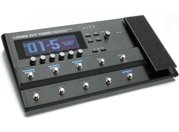 Pedaleira para Guitarra Elétrica/Pedaleiras para guitarra elétrica BOSS GT-1000 Pedaleira Multi-Efeitos Bluetooth