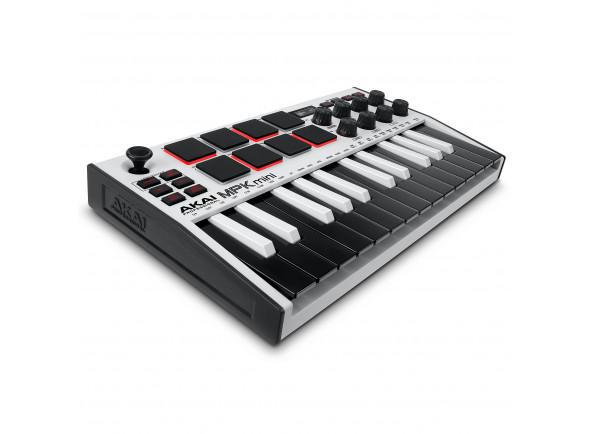Controlador Midi/Controladores midi até 25 teclas Akai Professional MPK Mini MK3 White