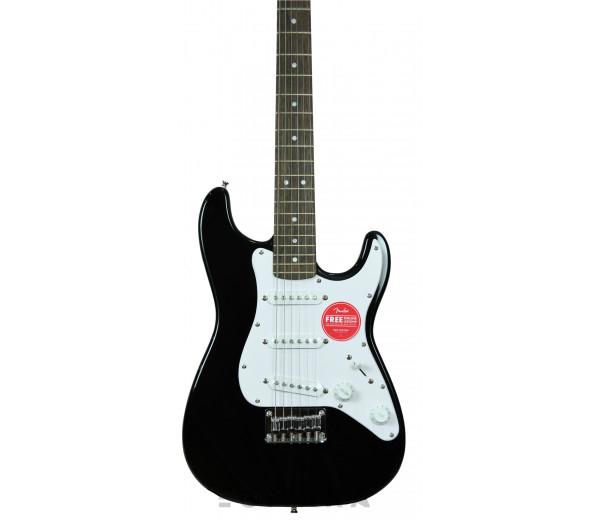 Guitarras criança 3/4/Modelos de criança / shortscale Fender Squier Mini Strat V2 BK IL