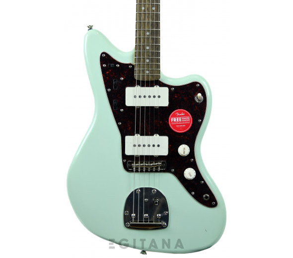 Outros formatos Fender  Squier Limited Edition Classic Vibe 60s Jazzmaster Surf Green
