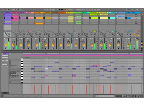 Updates e Upgrades Ableton Live 10 Standard UPG 1-9 Std. Download