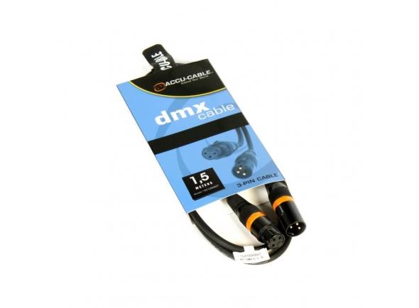 Cabo DMX Accu-Cable AC-DMX3/1,5