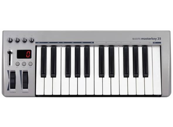 Teclados MIDI Controladores/Teclados MIDI Controladores Acorn Masterkey 25