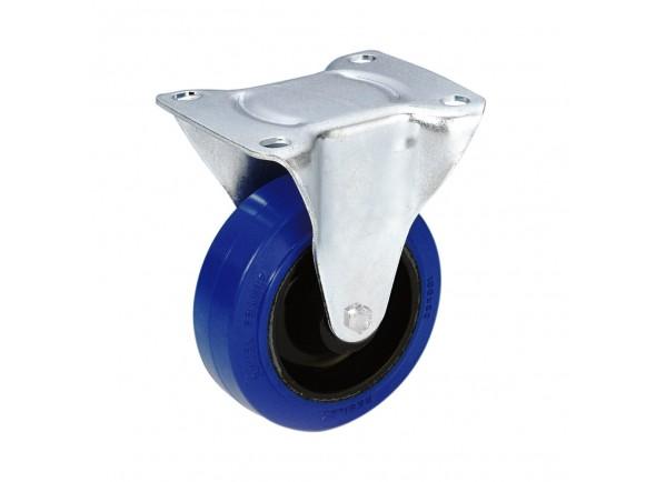 Peças para racks e cases Adam Hall 372071 Fixed Wheel 80mm