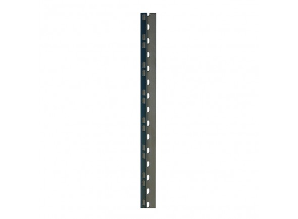 Peças para racks e cases Adam Hall 61535B18 Rack Strip 18U blk