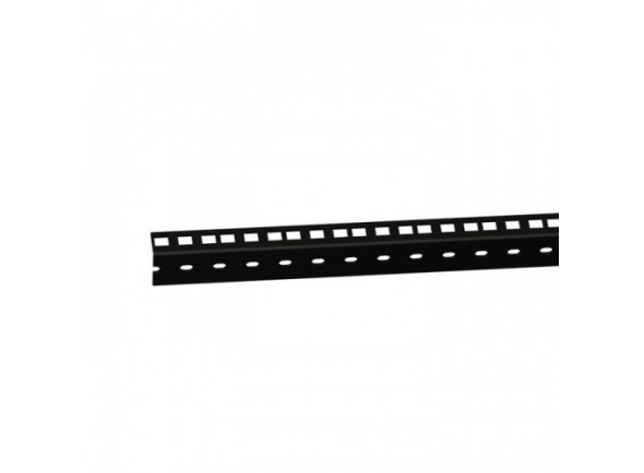 Peças para racks e cases Adam Hall 61535B3 Rack Strip 3U blk