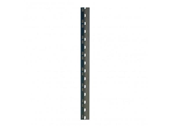 Peças para racks e cases Adam Hall 61535B6 Rack Strip 6U blk