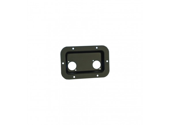 Peças para racks e cases Adam Hall 8708 Dish for D-Type Socket