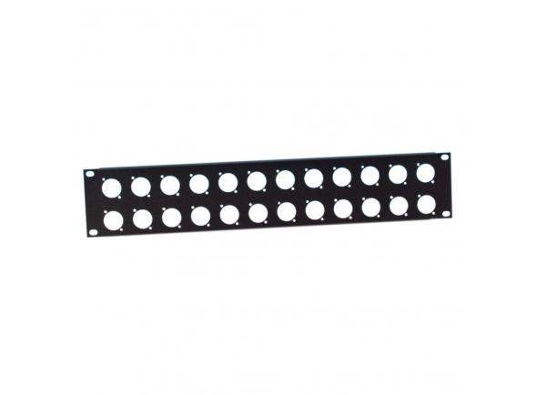 Peças para racks e cases Adam hall 872214 U-Shaped Rack Panel