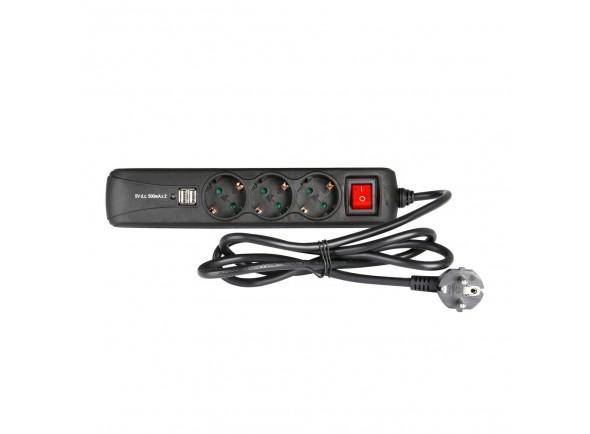 Tomada/Diversos Adam hall Accessories 8747 S 3 USB