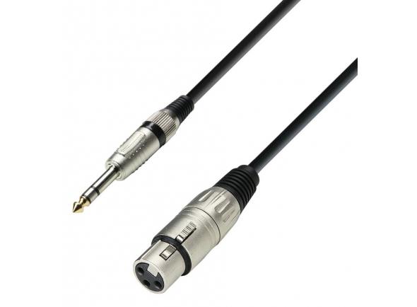 Cabo de microfone/Cabos XLR / Microfone Adam hall K3BFV0300 3m