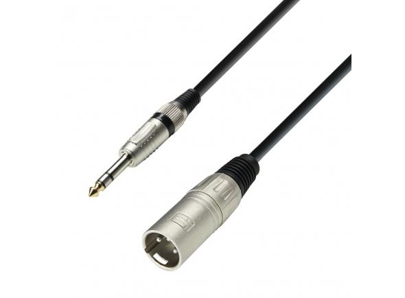 Cabos XLR / Microfone Adam hall K3BMV0100
